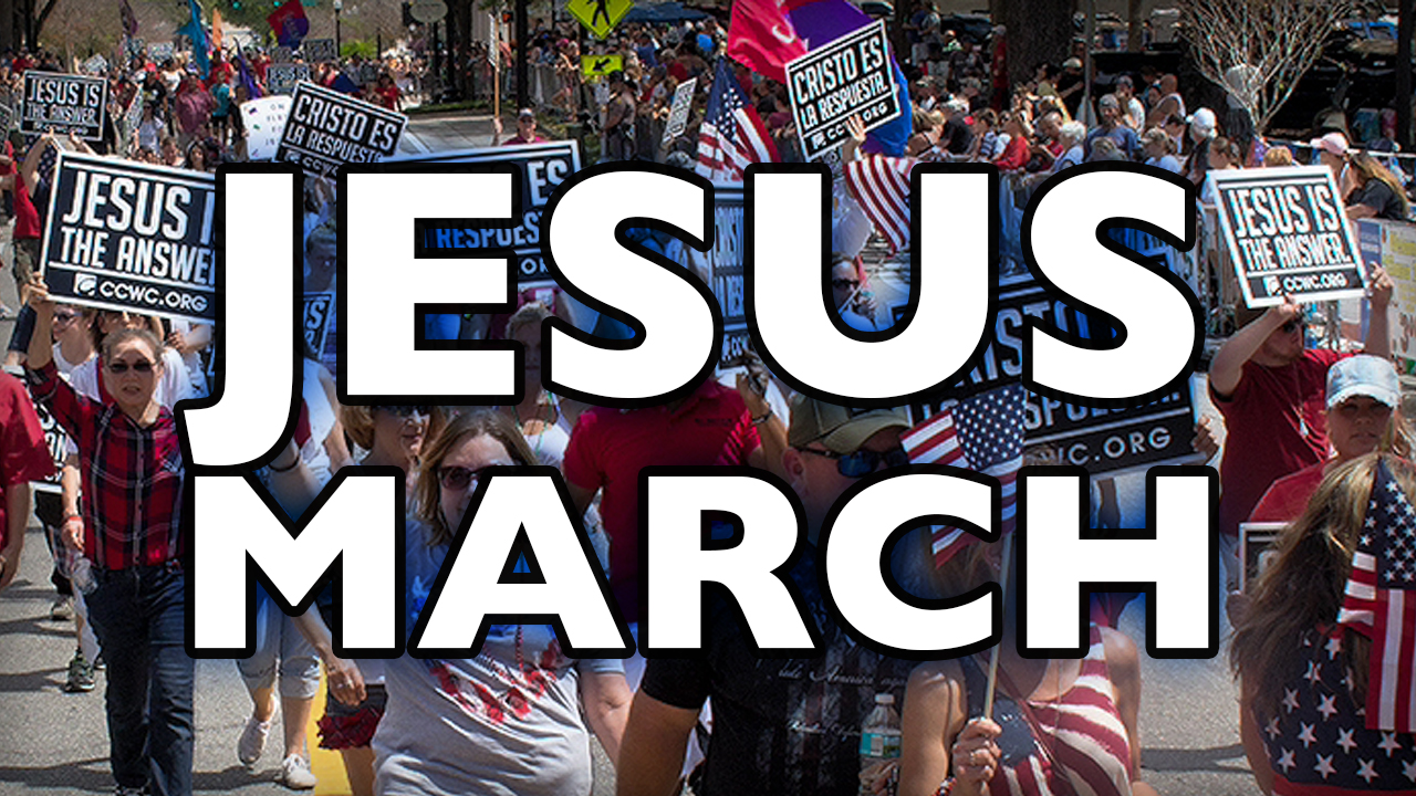 Jesus March at Chasco Parade