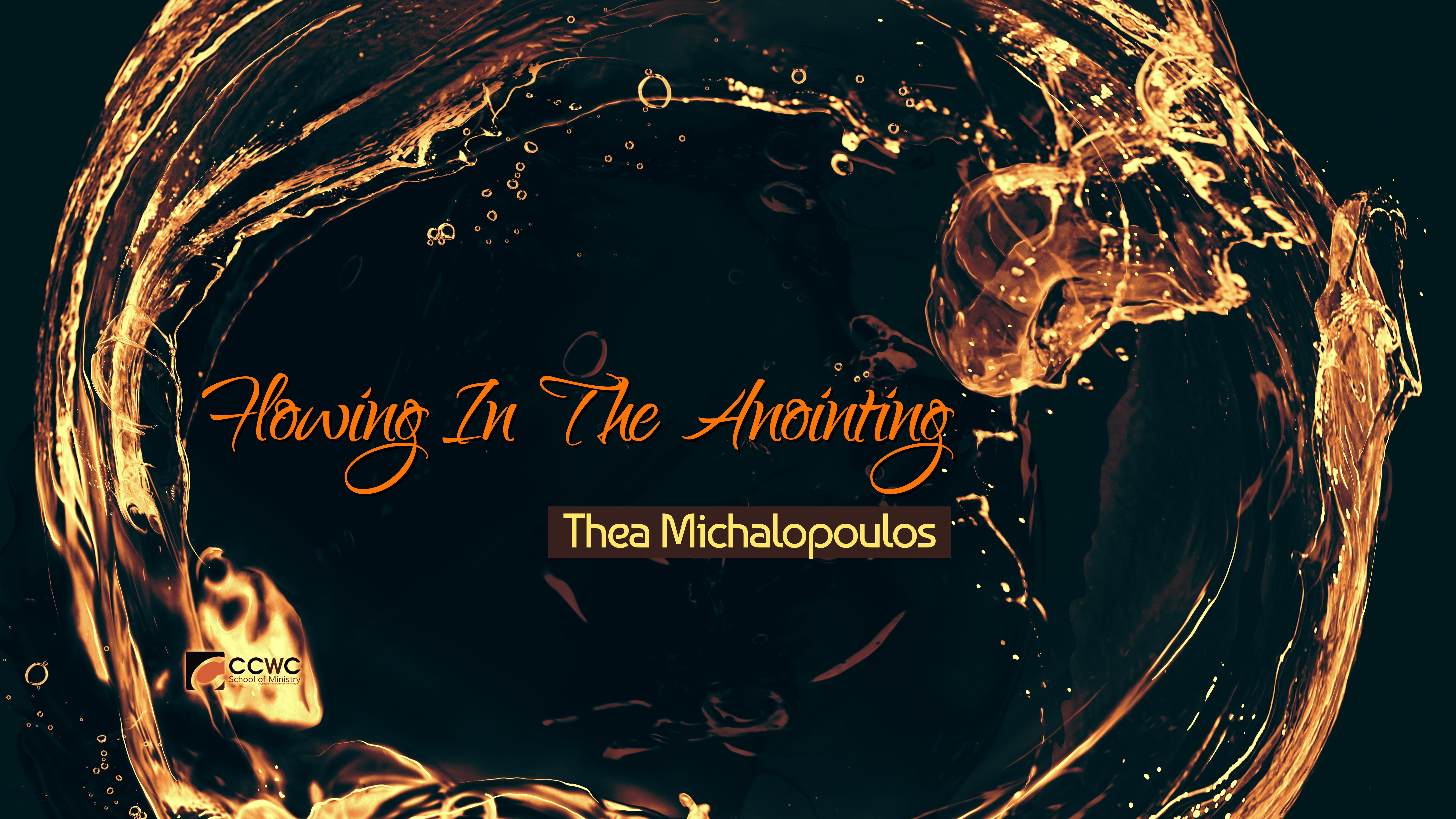 Flowing In The Anointing
