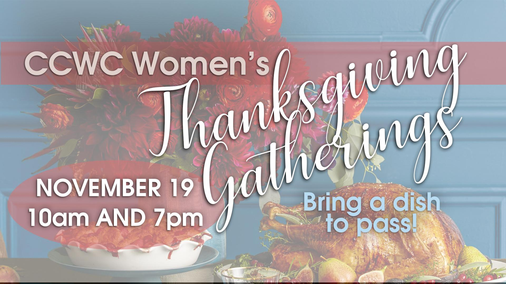 Women's Thanksgiving Gatherings