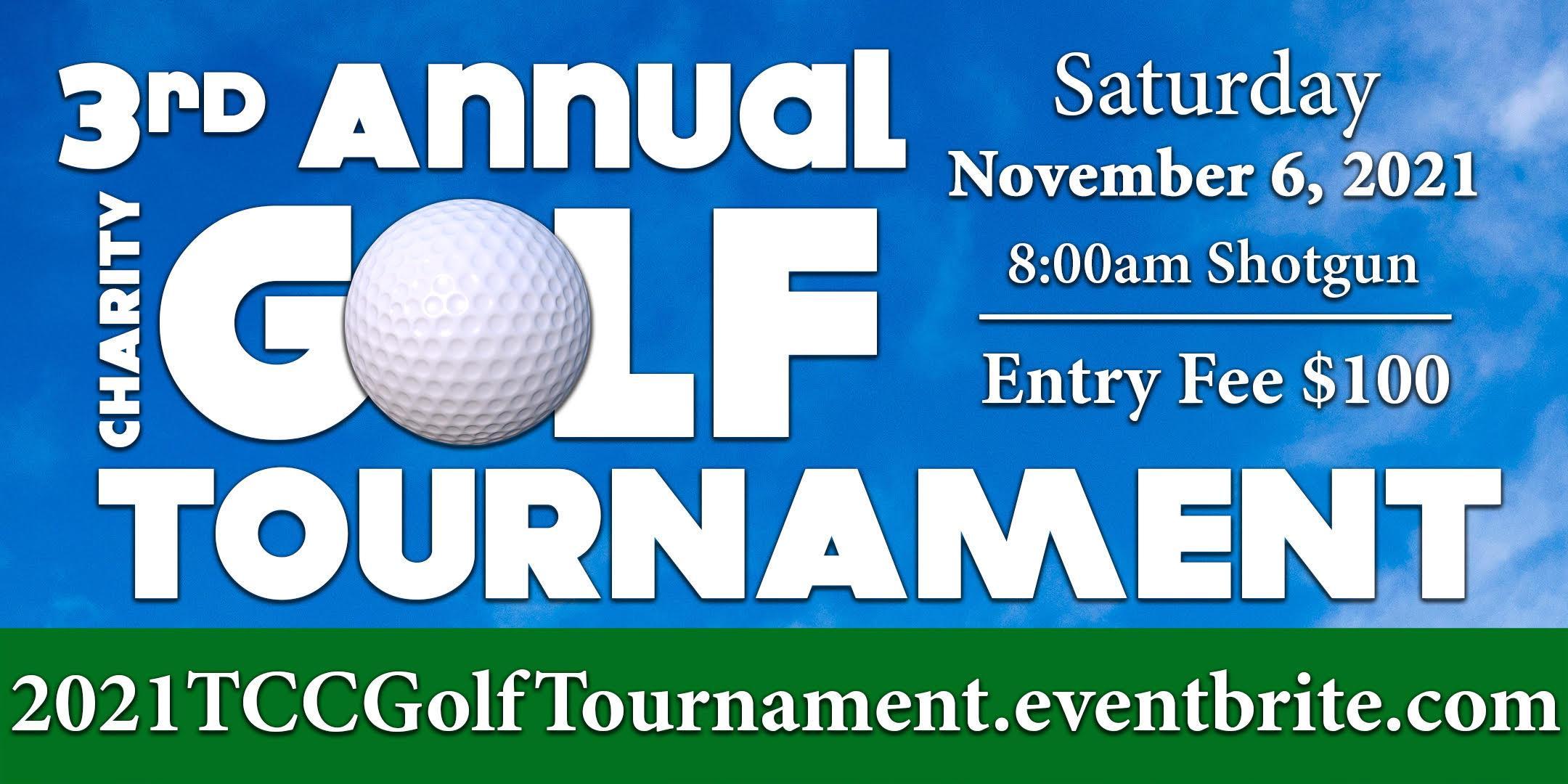 3rd Annual Charity Golf Tournament